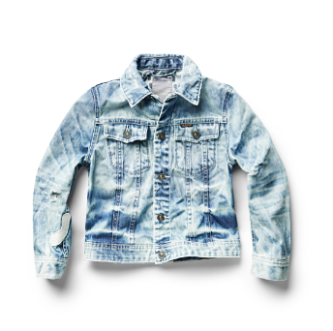G-STAR RAW CROPPED DENIM JACKET