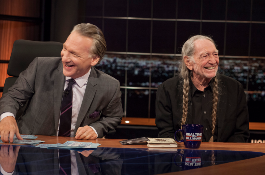 BILL-MAHER-WILLIE-NELSON