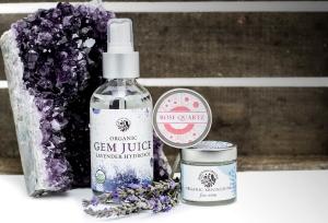Lav Gem Juice Amethyst Gemstone Organic