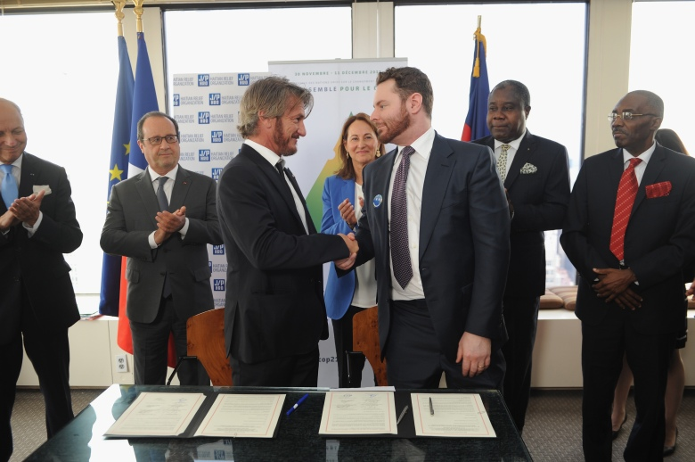Sean Penn Announces Haiti Reforestation Project