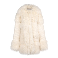 Stella McCartney Ivory Ramona Coat